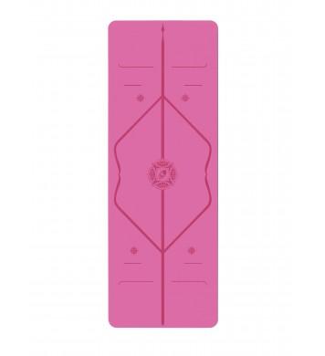 Liforme létt Jógadýna (travel) gratitute Pink