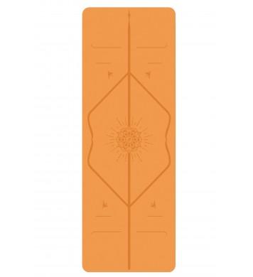 Liforme létt Jógadýna (travel) happiness orange