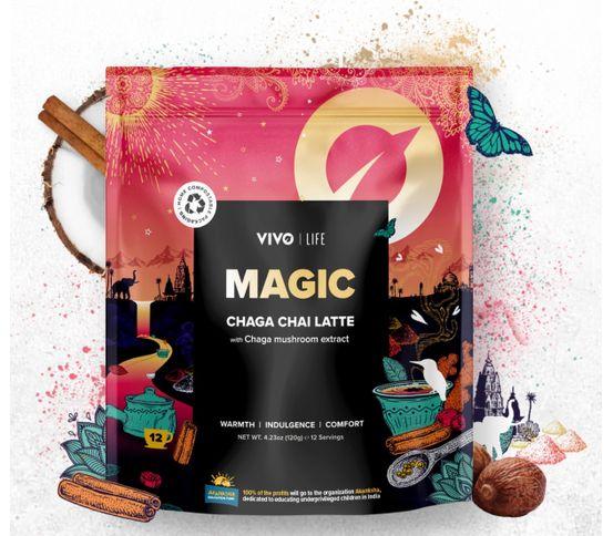 MAGIC Chaga Chai Latte 120 gr