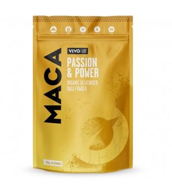 MACA Powder Organic & Gelatinised 125gr