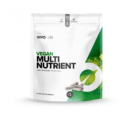 NÝTT Vivo Life Vegan Multi Nutrient - fjölvítamín