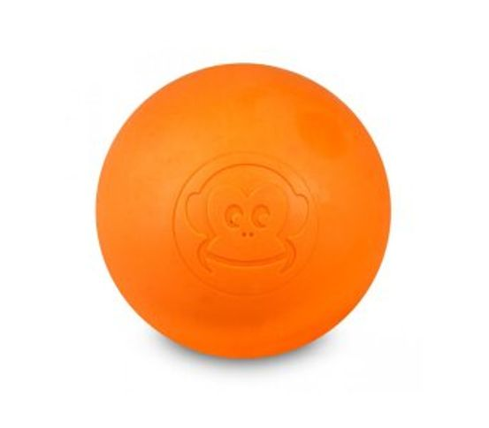 Nuddbolti harður 6.5cm orange